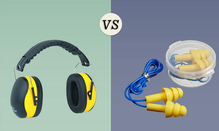 earmuffs vs ear plugs